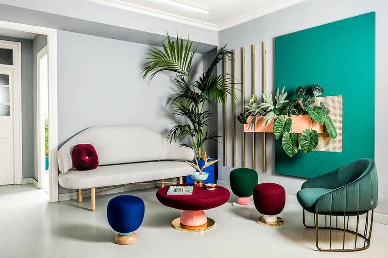 Toadstool Collection Ensemble Sofa, Table and Puffs, Masquespacio 2