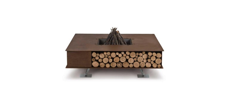 Modern Toast Fire Pit by AK47 Design For Sale
