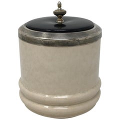 Tobacco Canister with Lid