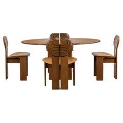 Tobia & Afra Scarpa Africa Dining Room Set from Artona Series by Maxalto, Italy