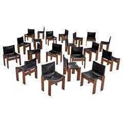 Tobia & Afra Scarpa for Molteni Twenty 'Monk' Chairs