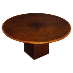 Tobia Scarpa 'Africa' Dining Table from Artona Series by Maxalto, 1975, Signed