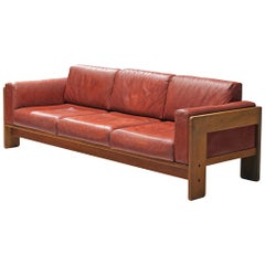 Tobia Scarpa Bastiano Sofa in Leather