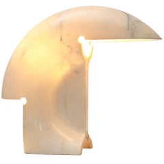Tobia Scarpa 'Biagio' Table Lamp in Marble