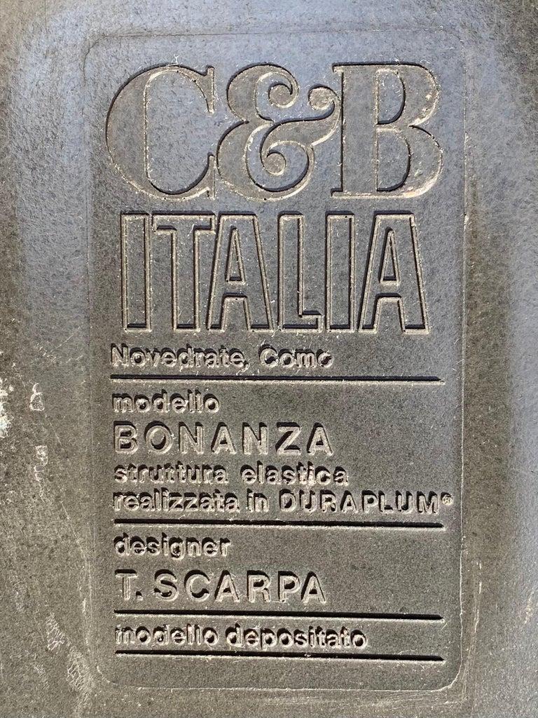 Tobia Scarpa Bonanza Sofa, C & B Italia For Sale 2
