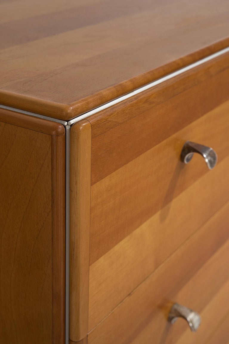 Tobia Scarpa Chest of Drawers in Walnut, 1960s For Sale 2