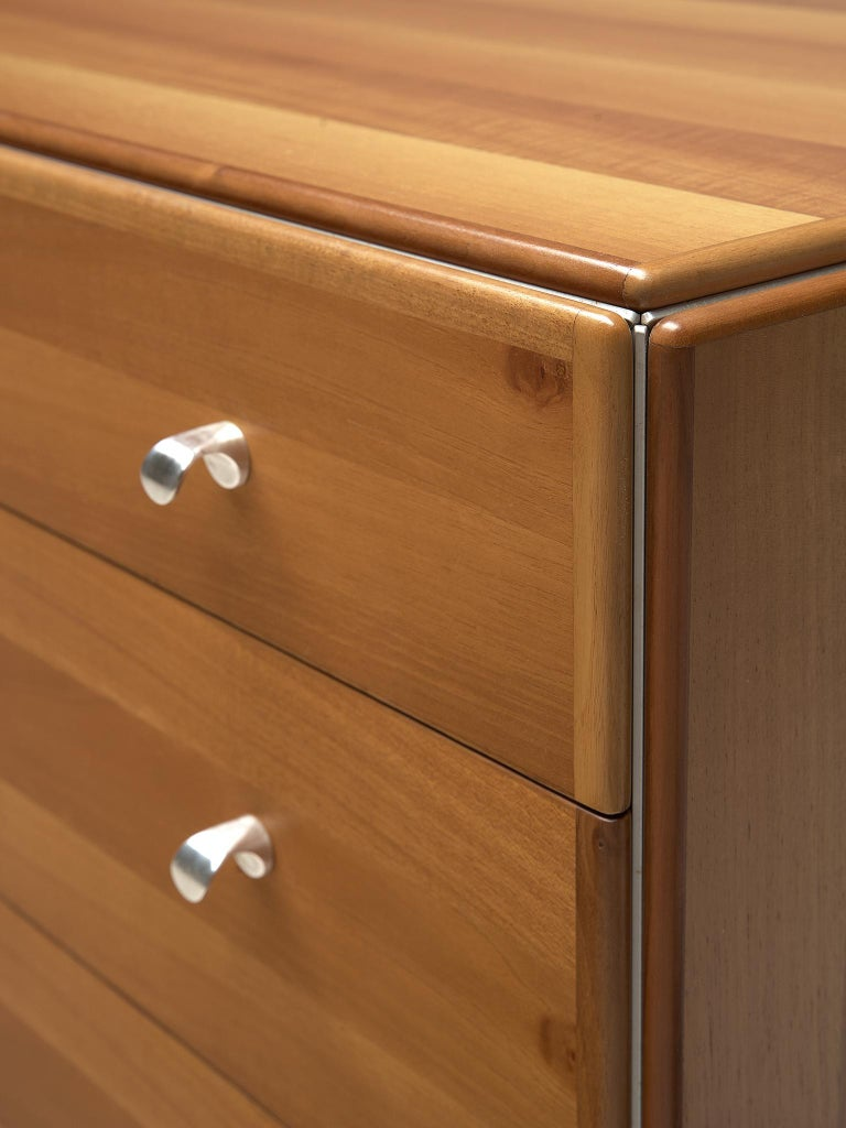 Tobia Scarpa Chest of Drawers in Walnut, 1980s For Sale 2