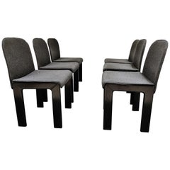 Tobia Scarpa Dining Chairs Model 121, Set of 6, 1970s