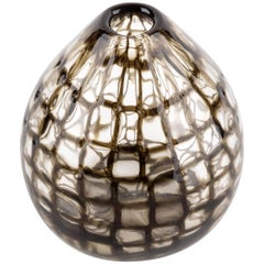 "Tobia Scarpa for Venini Murano Blown Glass Midcentury ""Occhi"" Murrine Vase"