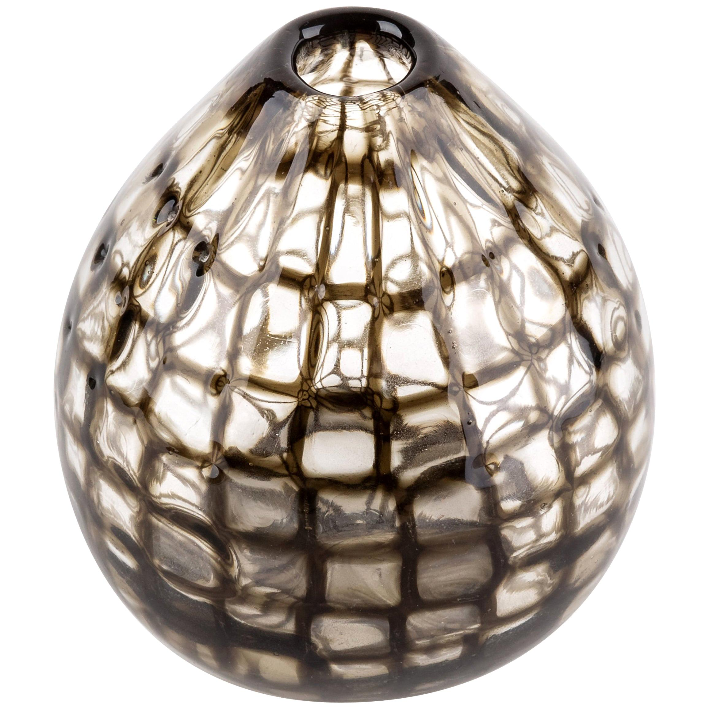 "Tobia Scarpa for Venini Murano Blown Glass Midcentury ""Occhi"" Murrine Vase"