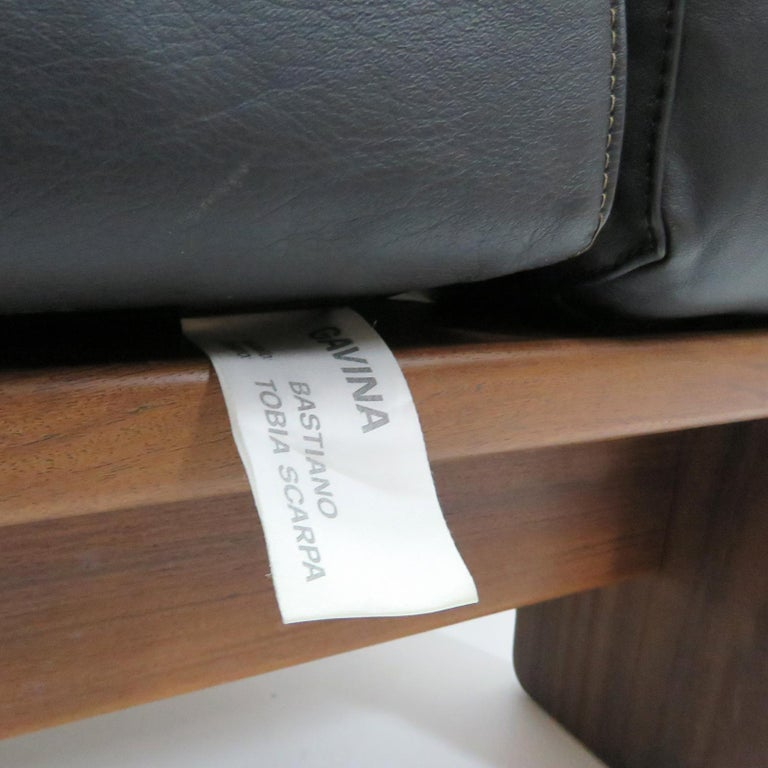 Tobia Scarpa Lounge Chairs 'Bastiano' for Gavina, Italy, 1960 For Sale 3