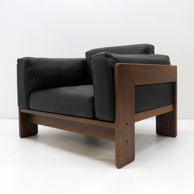 Mid-Century Modern Tobia Scarpa Lounge Chairs 'Bastiano' for Gavina, Italy, 1960 For Sale