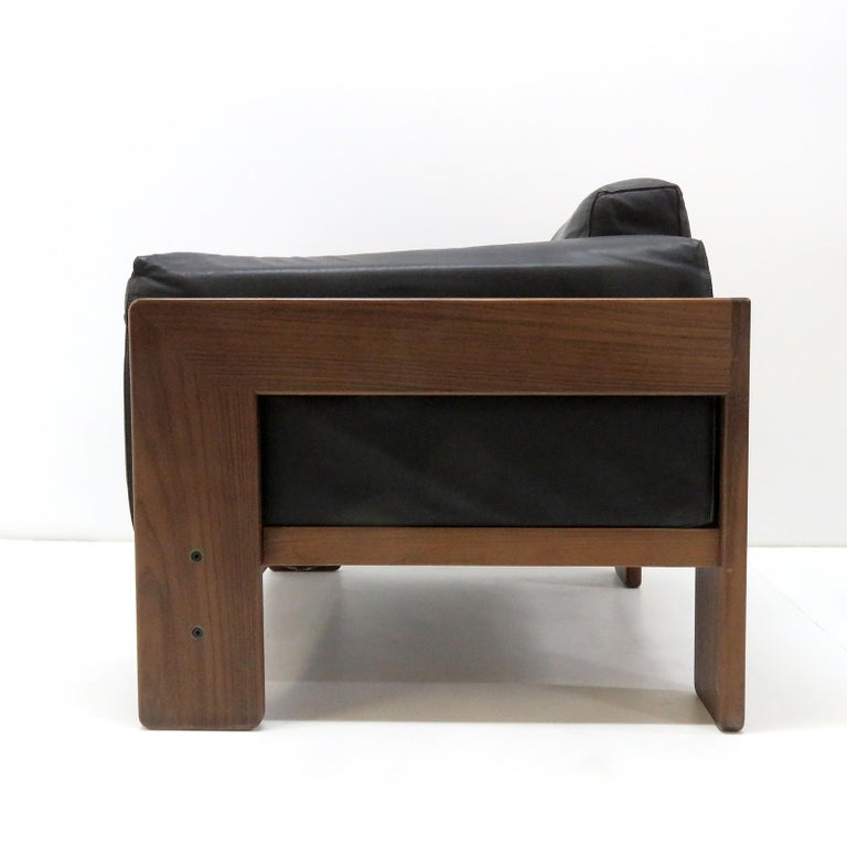 Italian Tobia Scarpa Lounge Chairs 'Bastiano' for Gavina, Italy, 1960 For Sale