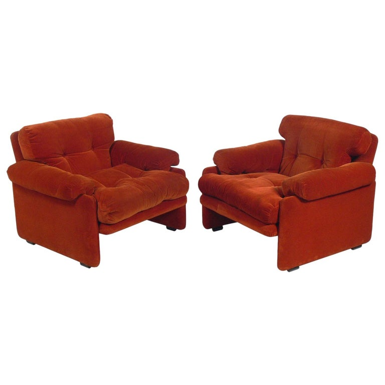 Tobia Scarpa Lounge Chairs for C&B Italia For Sale