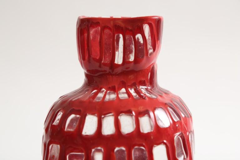 Italian Tobia Scarpa Occhi Vase for Venini For Sale