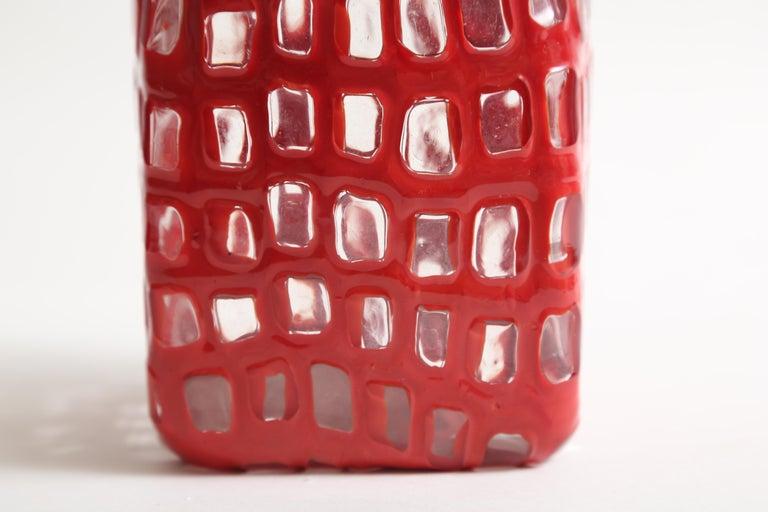 Mid-20th Century Tobia Scarpa Occhi Vase for Venini For Sale