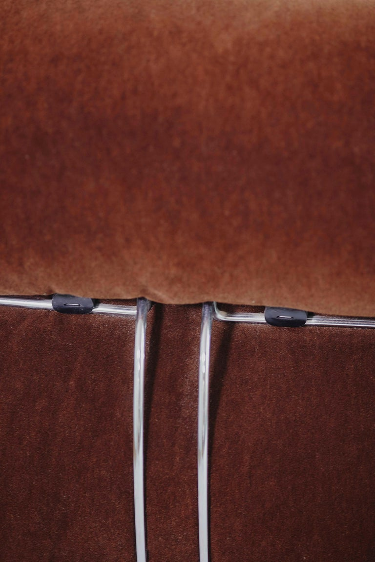 Tobia Scarpa Pair of Soriana Lounge Chairs and Ottoman, Cassina, Italy, 1970 For Sale 4