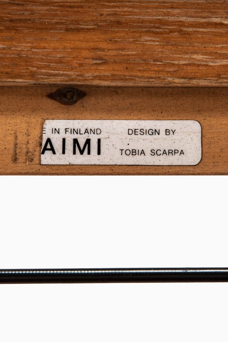 Tobia Scarpa Sofa Model Bastiano Produced by Haimi in Finland For Sale 3