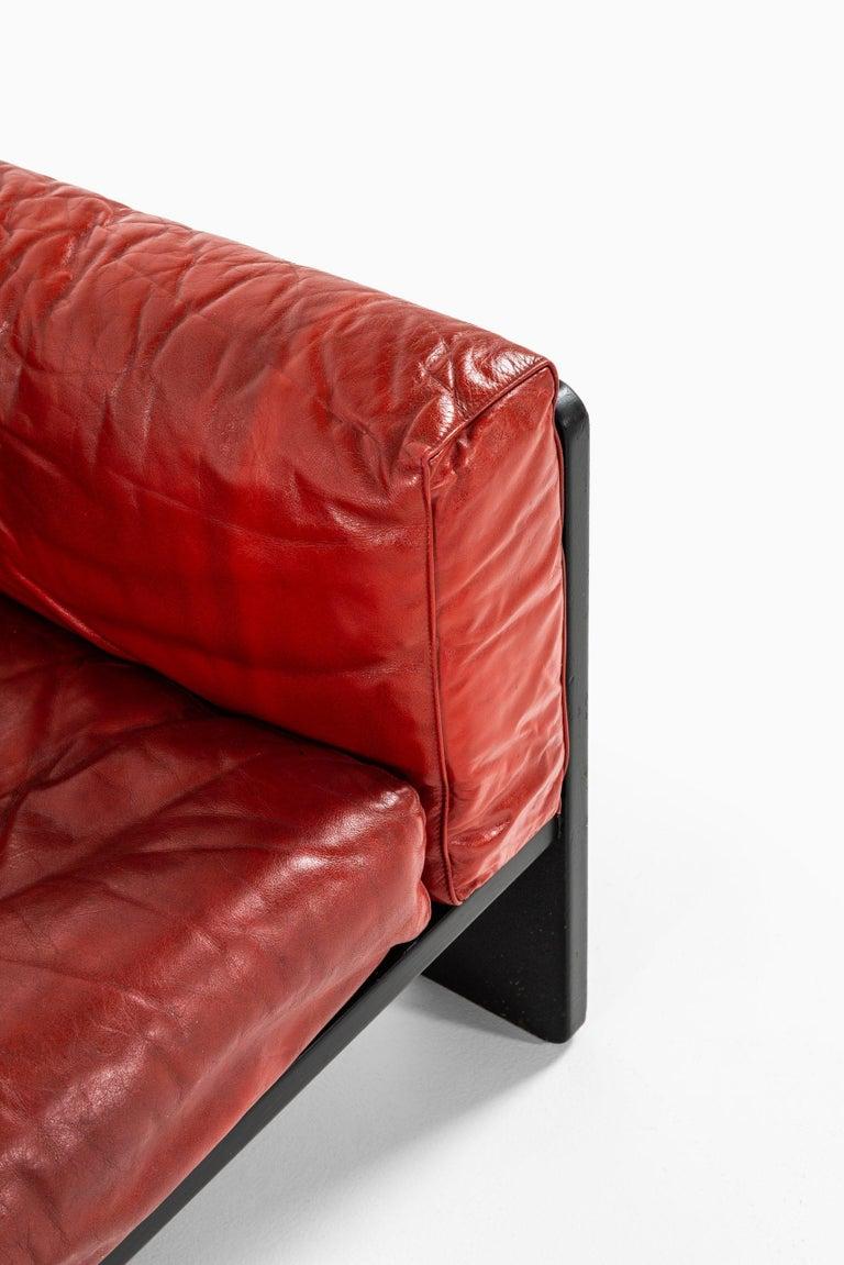 Scandinavian Modern Tobia Scarpa Sofa Model Bastiano Produced by Haimi in Finland For Sale