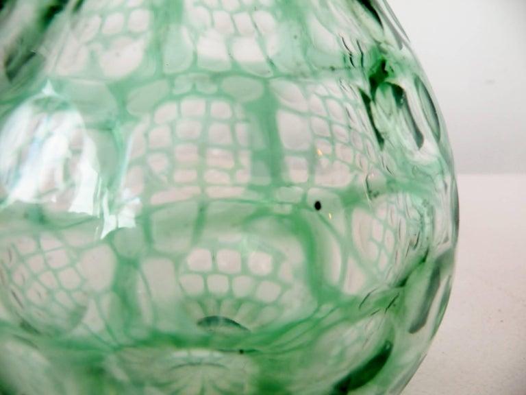 20th Century Tobia Scarpa Venini Occhi Bulbous Vase For Sale