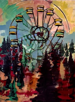 Pripyat, Painting, Oil on Canvas