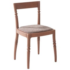 Toccata 530 Brown Chair by Paul Loebach