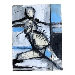 Mixed Media on Paper by Todd Alexander