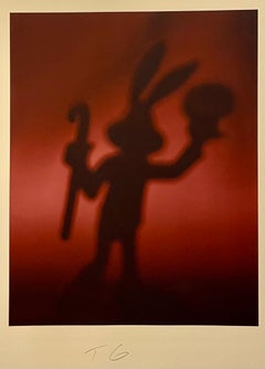 Color Iris Photo Print Conceptual Cartoon Toy Bugs Bunny Photograph Todd Gray