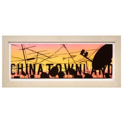"Todd Hebert ""Untitled 'Chinatownland'"" Painting, 2003"