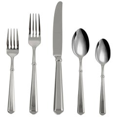 Todd Hill by Kate Spade NY Stainless Steel Flatware Set Service for 8 New 40 Pcs