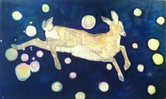 A Deer Follows Down From his Natural Home in the Stars