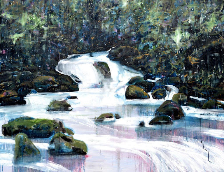 Todd Horton Landscape Painting - The Cosmic Forest