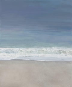 AMBIENT SURF, waves, beach, coastline, sand, muted colors, photo-realism