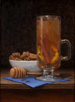 Todd M. Casey, Hot Toddy, oil on panel