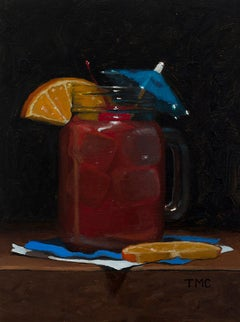 Todd M. Casey, Rum Punch, oil on panel