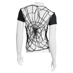 Todd Oldham Spider Web Back T Shirt 1980s