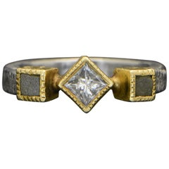 Todd Reed 14 Karat Palladium Diamond Ring