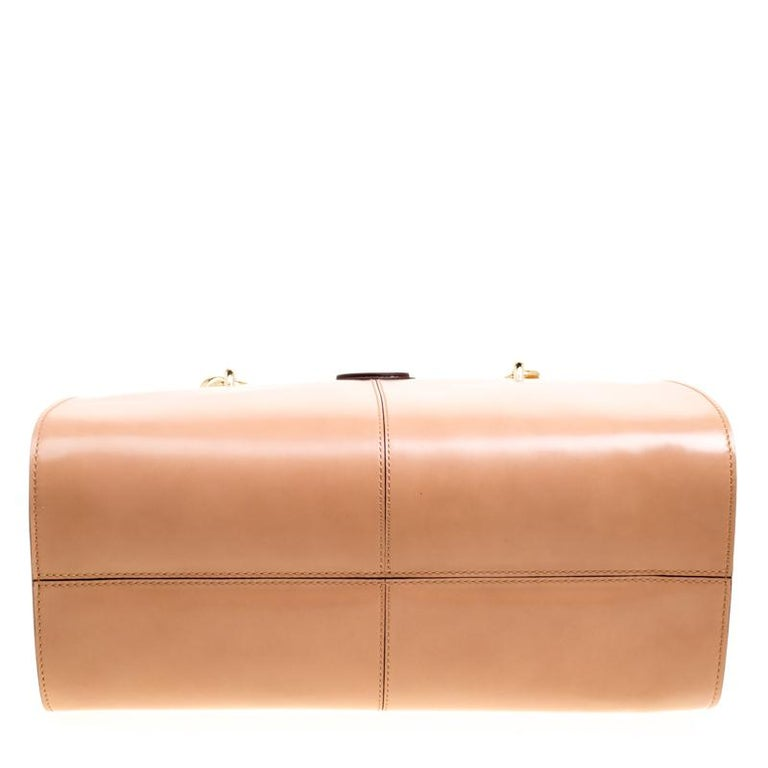 cb469dded23 Tod's Blush Pink Leather Top Handle Shoulder Bag For Sale at 1stdibs