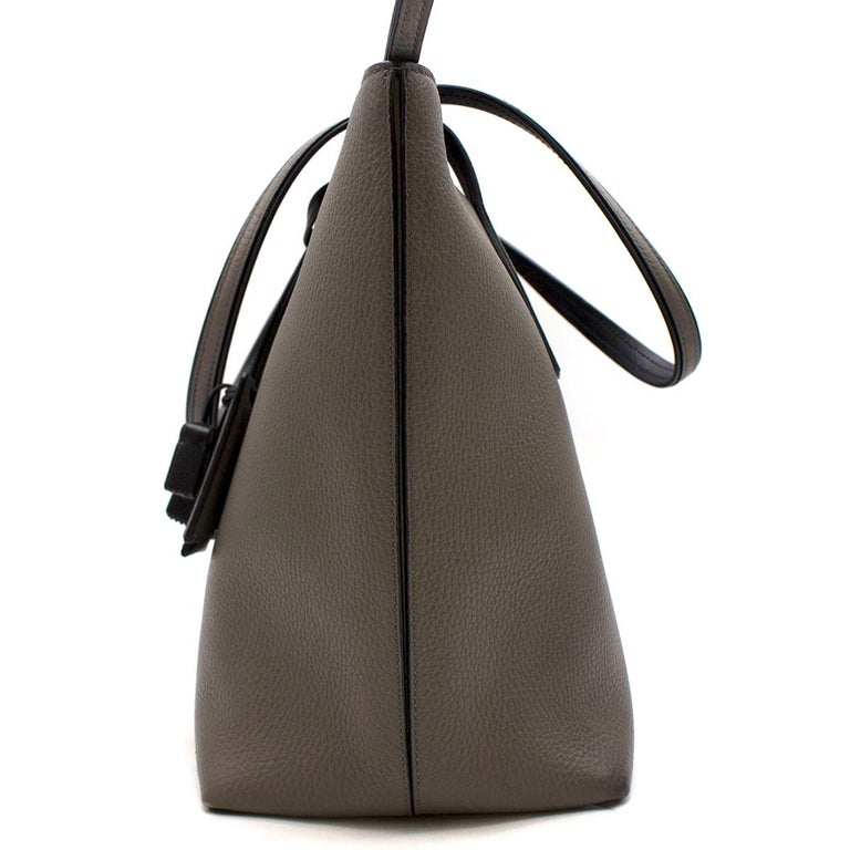 Gray Tod's Joy Taupe Bag Large  For Sale
