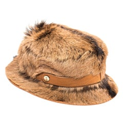 Tod's Large Goat Fur Bucket Hat