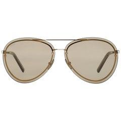 Tod's Mint Women Gold Sunglasses TO0248 6332E 63-10-140 mm