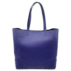 Tod's Satchel Wave New Tote Soft Gommini Violet XBWAMRFT301MACL-411