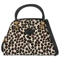 Tod'S Woman Handbag Black, Brown, White