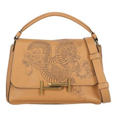 Tod'S Woman Shoulder bag  Beige Leather