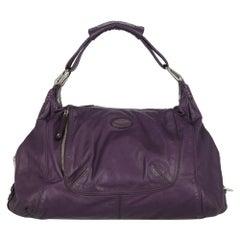 Tod'S Woman Shoulder bag  Purple Leather