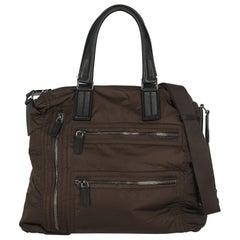 Tod'S Women  Shoulder bags  Brown Synthetic Fibers