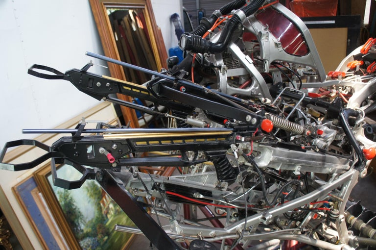 TODT Dystopian Contemporary Motorcycle Art Sculpture 1995 Reclaimed Steam Punk For Sale 5