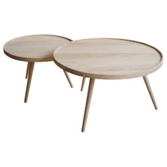 Tof ash wood Coffee Table set