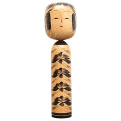 Togatta Japanese Wooden Traditional Kokeshi Doll