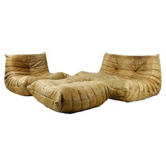 """Togo"" Loveseat, Chair, and Ottoman Set"